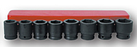 Impact Socket Kit: 8 Sockets (SIS-6604 and SIS-6603)