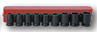 Impact Socket Kit: 9 Sockets (SIS-4406 and SIS-4405)