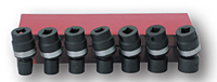Impact Socket Kit: 7 Universal Joints (SIS-3308 and SIS-3307)